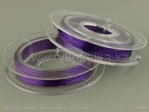 Проволока для бисера. 0,3мм. Фиолетовая.