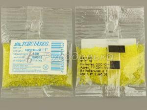 Бисер японский TOHO. 15/0. Лимонный (12). Прозрачный. 5 гр.