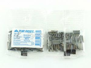 Бисер японский TOHO. Стеклярус 9мм. Серый (613). Непрозрачный матовый. 5гр