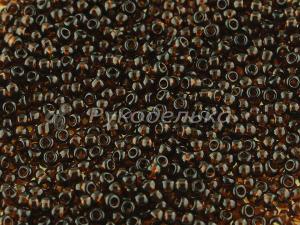 Бисер чешский Preciosa темно-коричневый (10140) NT 10гр