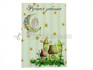 Карточка для бантиков и заколок 10х14 см. №6