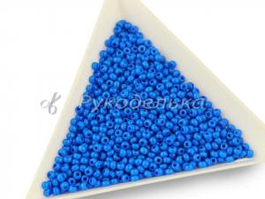 Бисер чешский Preciosa 10/0. Голубой (16136) DA. 10гр